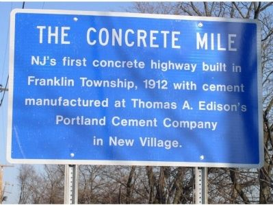 The Previous Concrete Mile Marker image. Click for full size.