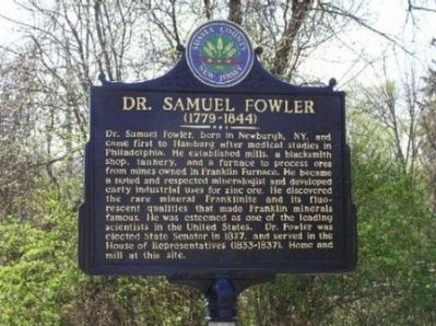 Dr. Samuel Fowler Marker image. Click for full size.
