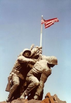 U.S. Marine Memorial image. Click for more information.