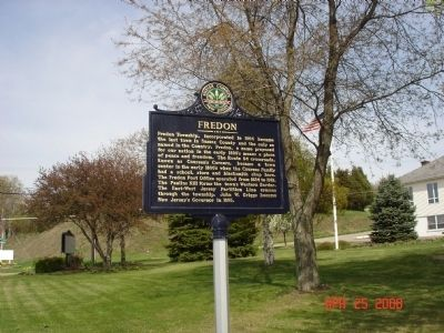 Fredon Marker image. Click for full size.