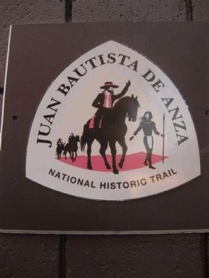 Juan Batista de Anza National Historic Trail Sign image. Click for full size.