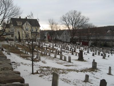 Headstones in the Cemetery image. Click for full size.