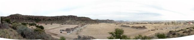 Panorama of Fort Davis image. Click for full size.