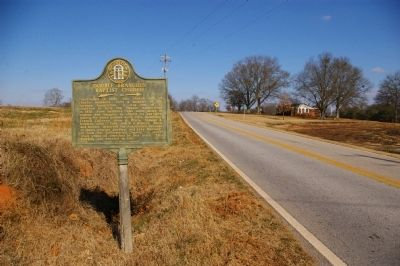 Double Branches Baptist Church Marker image. Click for full size.