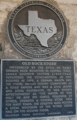Old Rock Store Marker image. Click for full size.