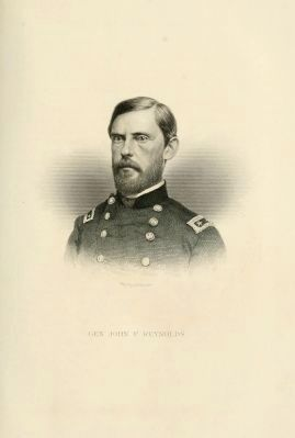 Major General John Fulton Reynolds Portrait image. Click for more information.