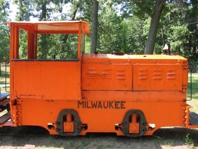 Milwaukee Gasoline Locomotive image. Click for full size.