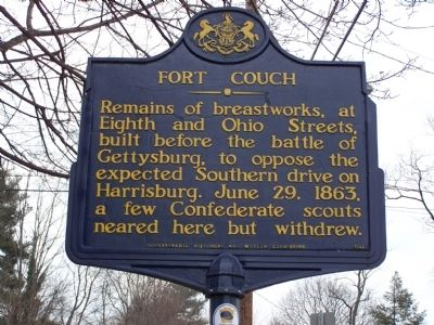 Fort Couch Marker image. Click for full size.