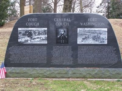 Fort Couch - General Couch - Fort Washington Marker image. Click for full size.