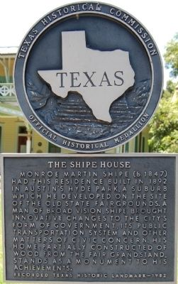 The Shipe House Marker image. Click for full size.