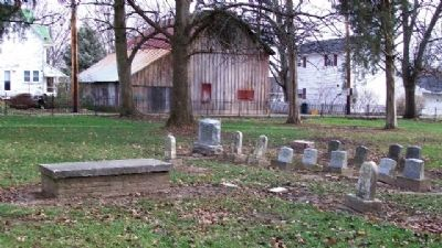 Jonathan Wright Family Plot in Friends Cemetery image. Click for full size.