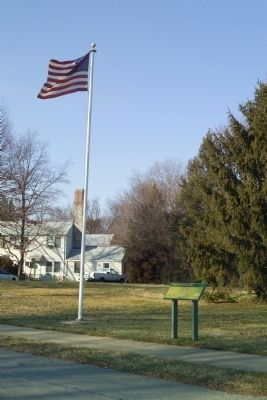 Greenbelt Homes Inc. Marker with Flag image. Click for full size.