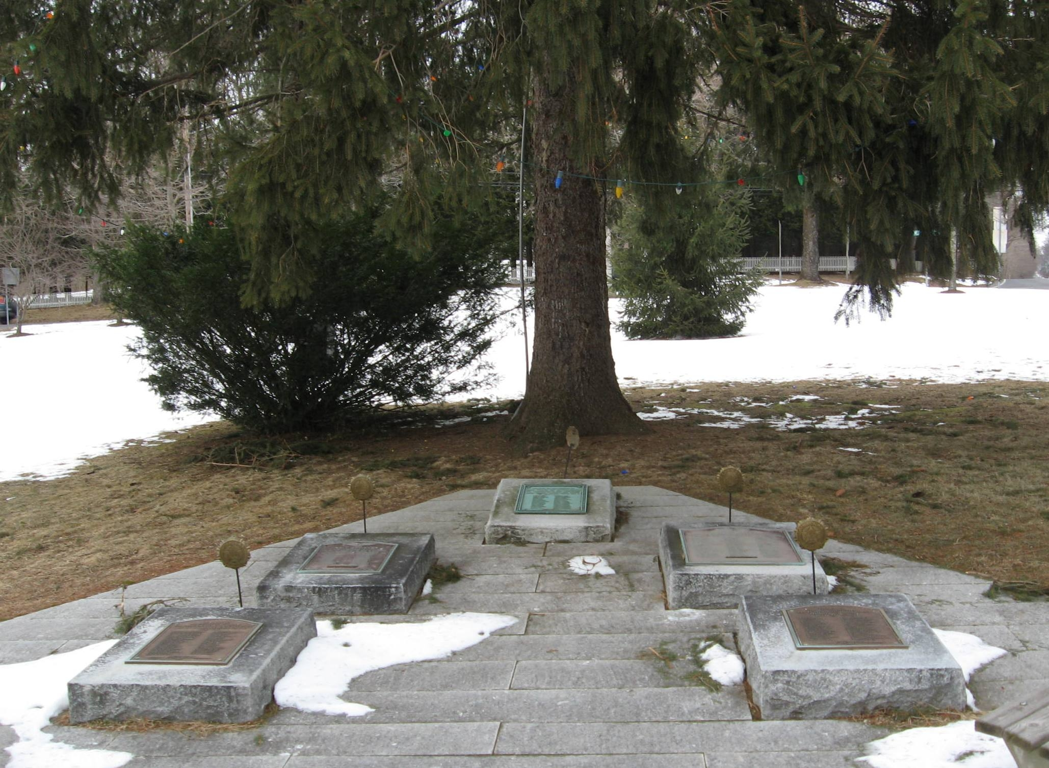 Memorials on the Bethlehem Green
