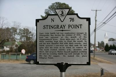 Stingray Point Marker image. Click for full size.