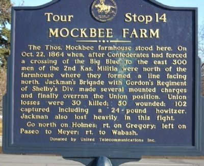 Mockbee Farm Marker image. Click for full size.