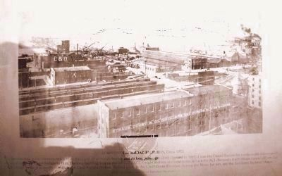 Downtown Railroad Facilities, Circa 1905 image. Click for full size.