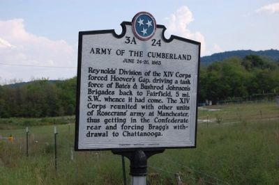 Army of the Cumberland Marker image, Touch for more information