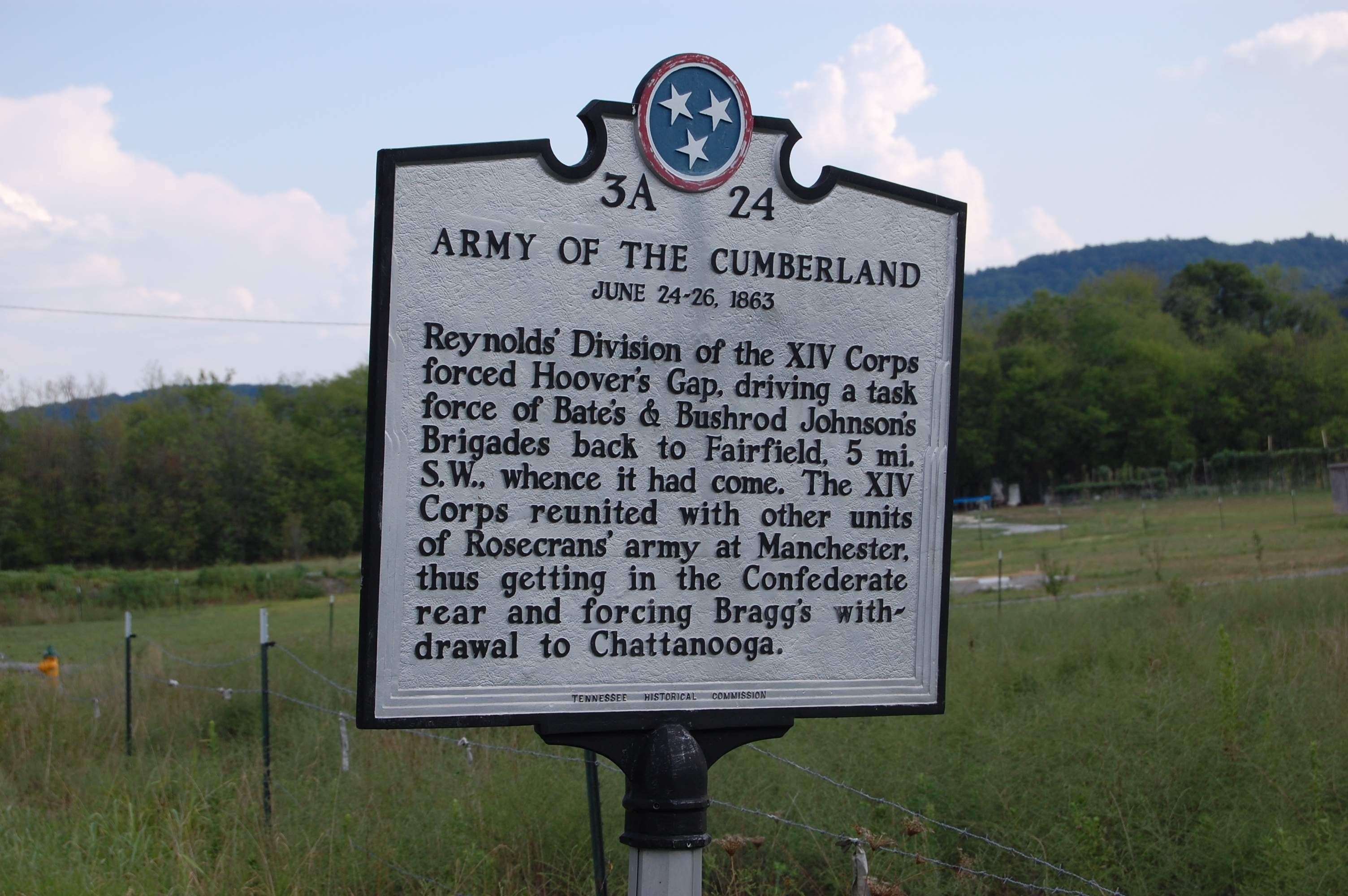 Army of the Cumberland Marker