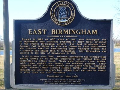East Birmingham Marker image. Click for full size.