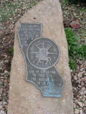 De Anza Expedition 1775 - 1776 Marker image. Click for full size.