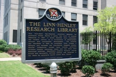 Side B The Linn - Henley Research Library Marker image. Click for full size.
