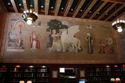 Ezra Winter's Murals In The Main Reading Room Of The Linn - Henley Research Library (West Wall) image. Click for full size.