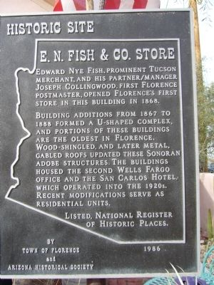 E.N. Fish & Co. Store Marker image. Click for full size.