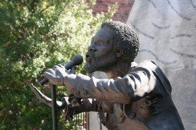 Eddie Kendrick Sculpture by Ronald Scott McDowell image. Click for full size.