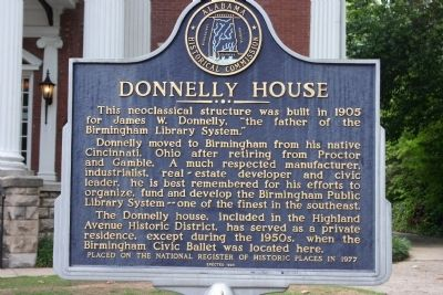 Donnelly House Marker image. Click for full size.