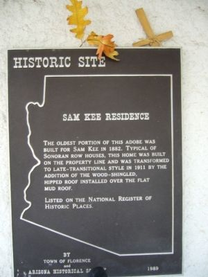 Sam Kee Residence Marker image. Click for full size.