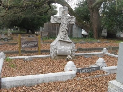 Flanagan Family Plot and Marker image. Click for full size.
