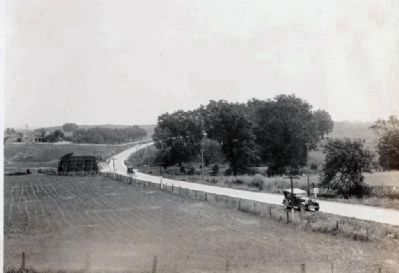 Lincoln Highway in Indiana image. Click for full size.