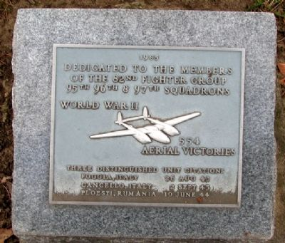 82nd Fighter Group Memorial image. Click for full size.