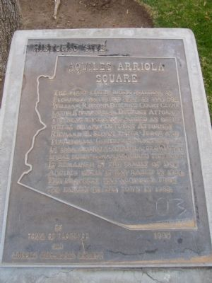 Aquiles Arriola Square Marker image. Click for full size.