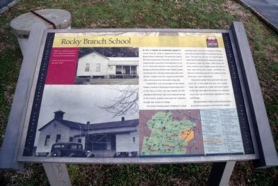 Rocky Branch School CRIEHT Marker image. Click for full size.
