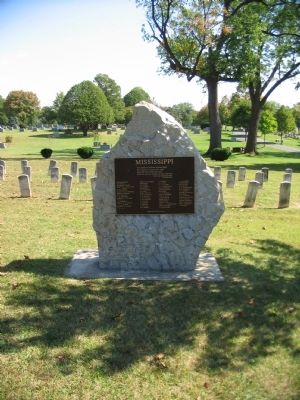 Mississippi Memorial image. Click for full size.