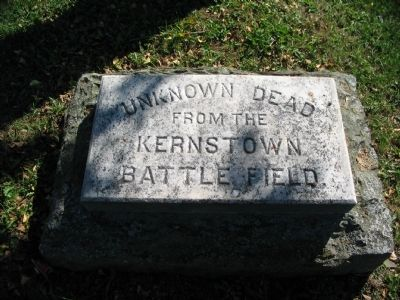 Unknown from Kernstown Battlefield image. Click for full size.