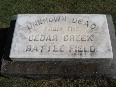 Unknown Dead from Cedar Creek Battlefield image. Click for full size.