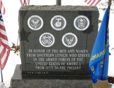 VFW Post 3405 Veterans Memorial image. Click for full size.