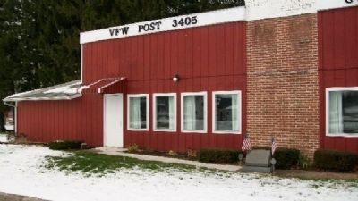 VFW Post 3405 Vietnam Memorial image. Click for full size.