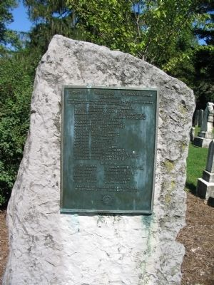 Revolutionary War Soldiers in Mt. Hebron Cemetery Marker image. Click for full size.