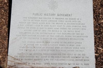 Public History Movement Marker image. Click for full size.