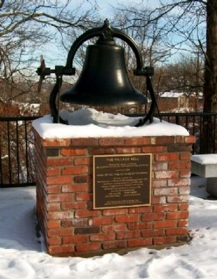 The Village Bell Marker image. Click for full size.