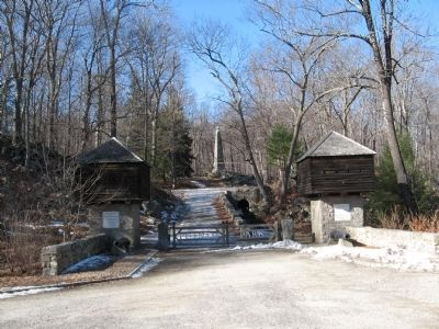 The Entrance to Putnam Memorial State Park image. Click for full size.