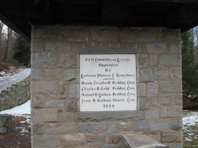 Plaque on the Right Guard Tower at the Entrance image. Click for full size.