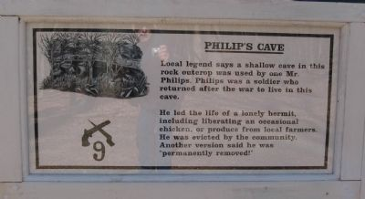 Philips Cave Marker image. Click for full size.