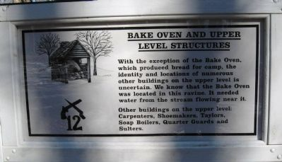 Bake Oven and Upper Level Structures Marker image. Click for full size.