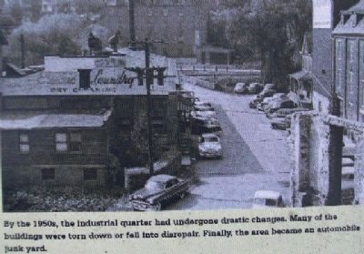 1950s Industrial Quarter Photo on Marker image. Click for full size.