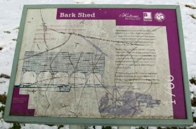 Bark Shed Marker image. Click for full size.