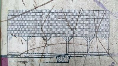 Bark Shed Drawing on Marker image. Click for full size.